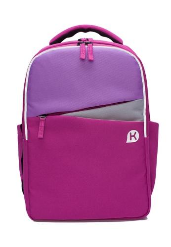 Kags pink KAGS Ashton Series 2.0 Ergonomic School Backpack - Pink 300D2KC2E21C3DGS_1
