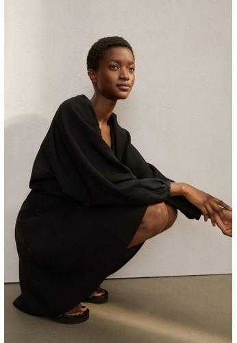 H&M black Lyocell-blend dress 3C2E8AAF088CDCGS_1