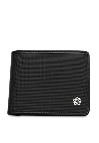 Wild Channel black Men's Bi Fold Wallet BD639AC0AD8F0EGS_1