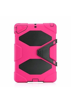 Heavy Duty Hybrid Shockproof Case with Stand for Apple iPad Mini 4