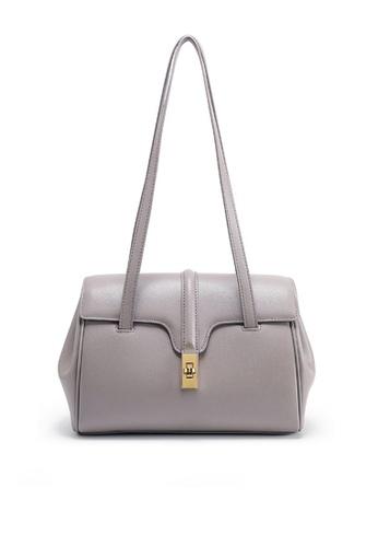 Twenty Eight Shoes grey VANSA Nappa Leather Handle Single shoulder Bag  VBW-Hb8180S 021DFACF358F32GS_1