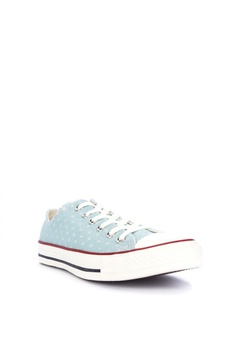 8ba1cf5189b 50% OFF Converse Chuck Taylor All Star Perforated Stars Sneakers Php  3