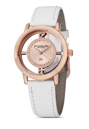 Stuhrling Original gold Winchester Tiara Watch ST251AC33FQCMY_1