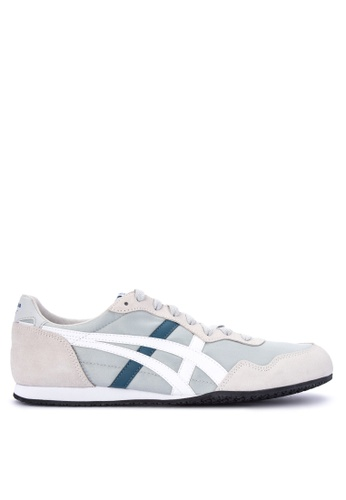 Onitsuka Tiger grey and multi Serrano Lace-up Sneakers 3B0D5SH36108EDGS_1