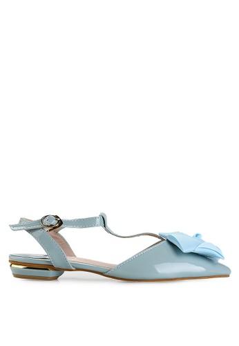 Mandy's blue Michele Blue Flats MA947SH51DYUID_1