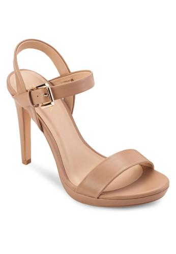 基本款繞踝高跟涼鞋, 女鞋, 細帶高esprit home 台灣跟鞋