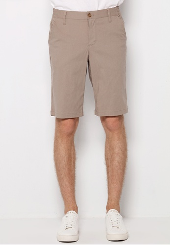 Guess brown Guess Men's Woven Shorts 5FB3BAAEBAB40FGS_1