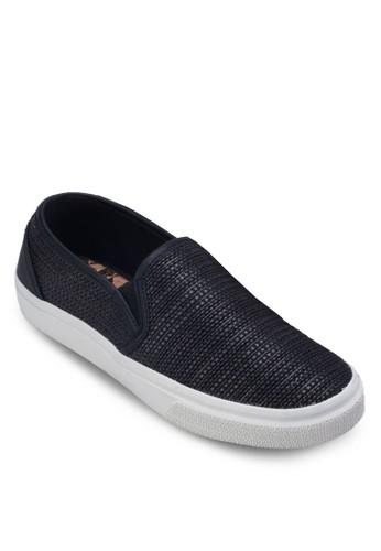 Bara 暗紋厚底懶人鞋zalora退貨, 女鞋, 鞋