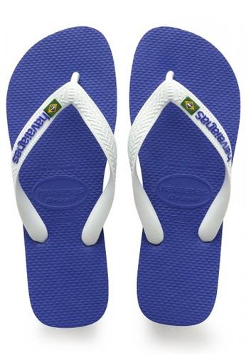 Havaianas blue Brasil Logo 2711 88A96SH066F2DFGS_1
