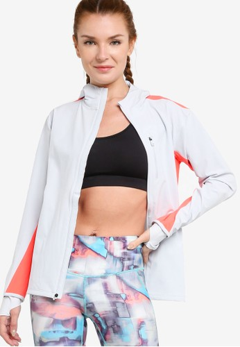 Under Armour grey Outrun The Storm Jacket 934C7AA80F5A41GS_1
