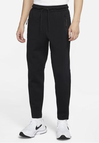 Nike black AS Men's Nike Sportswear Tech Fleece Pants OH A321CAA9FA0D73GS_1