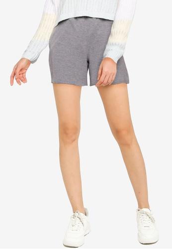 Hollister grey Knit Shorts 672E9AA9F18F16GS_1