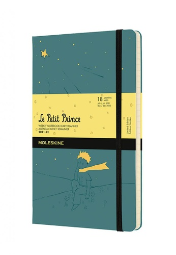 Moleskine green Moleskine Planners 18 Months Limited Edition Weekly Hard P Prince  Large B7FBDHL2022E8EGS_1