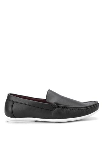 Huxley black Umberto Loafers HU539SH35QCIPH_1