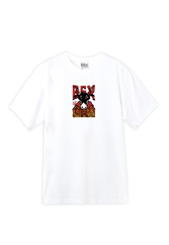 BSX white BSX New year of Ox limited eddition T-shirt 896AAAAA8FFCE7GS_1