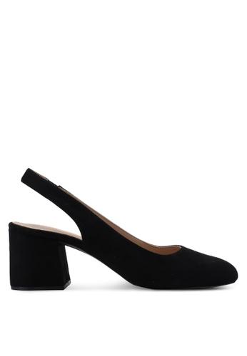 Carlton London black Round Toe Heels 7ABE5SHAA12C53GS_1