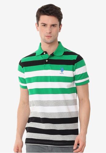 U.S. Polo Assn. multi Men's Basic Classic Fit Sport Polo Shirt 86291AAFCDA837GS_1