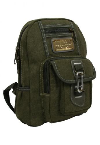 Lucky JX green Fashion Men's Bag 0A914ACD78DC16GS_1