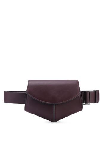 Mango red Flap Belt Bag 74228AC2030E3BGS_1