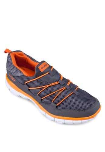 Exesprit outlet 台灣posher-X 撞色繫帶運動鞋, 鞋, 運動鞋