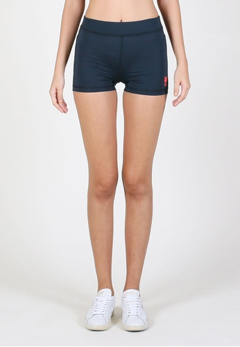 AMNIG black and blue and navy Amnig Women Maxforce Recapture Compression Shorts(Night Shade) 2DA81AA06CC8D0GS_1