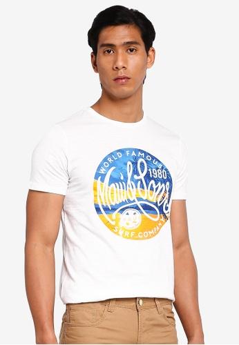 OVS 白色 休閒T-襯衫 CB1D7AAA030605GS_1