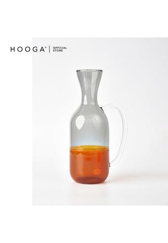 HOOGA grey and orange Hooga Pitcher Reo Amber Smoke 6C666HLF3B792EGS_1