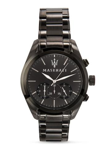 Maserati grey Maserati Traguardo Men's Chronograph Bracelet Watch R8873612002 MA410AC50UWRMY_1