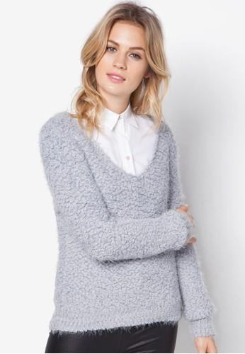 V 領針織毛衣, 服zalora 男鞋 評價飾, 服飾