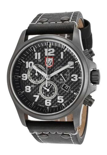 Luminox black Luminox Atacama Field Black Leather Watch 14B31ACDAE4FAFGS_1