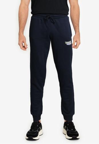 JACK & JONES navy Simon Sweat Pants 416D0AAB6E67BDGS_1
