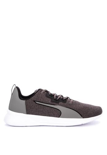 Puma black Tishatsu Runner Knit Running Shoes 4663CSHD9C8301GS_1