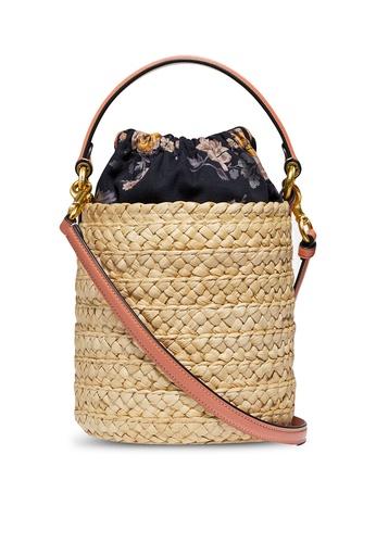 Coach beige Drawstring Bucket Bag (cv) 5A7EBACAB6EDD9GS_1