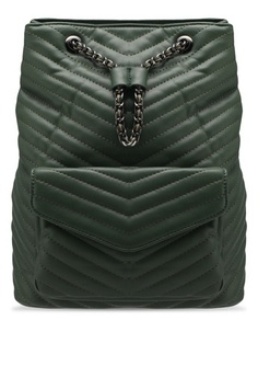 Something Borrowed. Quilted Chain Backpack c6522a6abc
