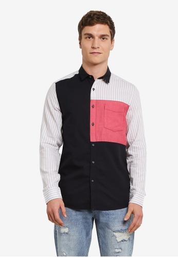 Topman multi Stripe Casual Shirt TO413AA0S4QXMY_1