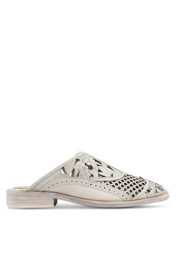 Free People white Paramount Slip On Loafers 108BCSHE7C1CBCGS_1
