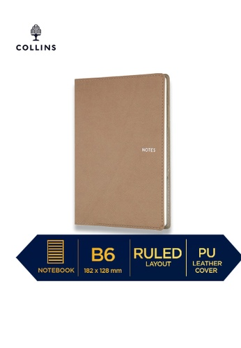 Collins brown Collins Metropolitan Sydney  ─  Notebook B6 Ruled Tan D9982HLD7E2096GS_1