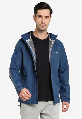 SUPERDRY blue Run Waterproof Jacket C75B6AAB796DF9GS_1