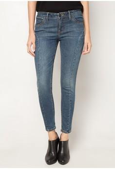 Licks- Low Rise Denim Buttlifter Legging Jeans