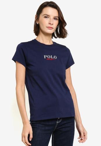 Polo Ralph Lauren 海軍藍色 Graphic T-Shirt 5F04EAA6C60481GS_1