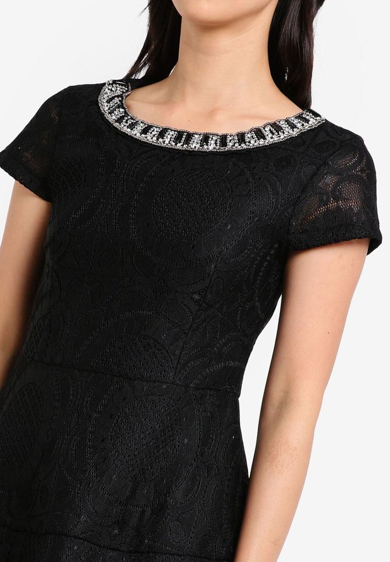 Embellishments Mini Dress Black With ZALORA Cn0rCxT