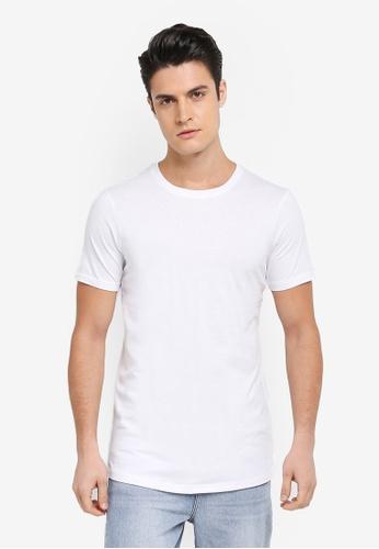 cdc065cc795 Shop Cotton On Essential Longline Curved Hem Tee Online on ZALORA ...