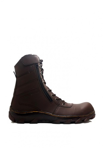 D-Island brown D-Island Shoes Zipper Boots High Rider Dark Brown DI594SH0VXB1ID_1