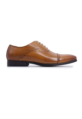 Rad Russel brown Rad Russel Lace-up Oxford - Tan 0ACD4SH443160BGS_1
