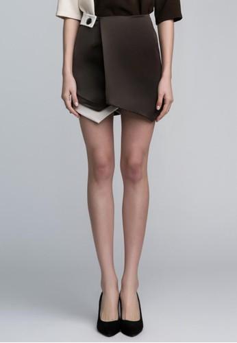 esprit門市雙色半身裙, 服飾, 迷你裙