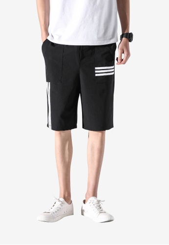 hk-ehunter black Men Shorts 63DCFAAEAC2141GS_1