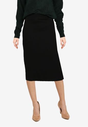 Noisy May black Nicoline Slim Skirt EA6BDAA15AE404GS_1
