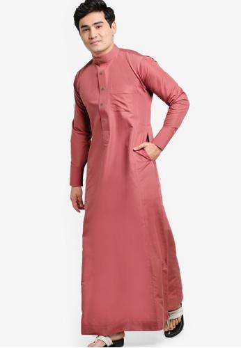 Amar Amran pink Jubah A Slim Fit AM362AA50JXXMY_1