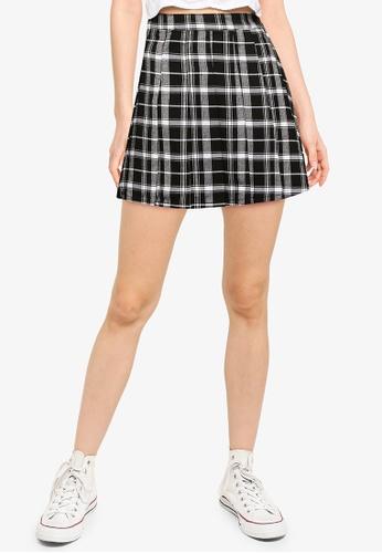 Hollister black Pleated Skirt 2F2A4AA6A21407GS_1