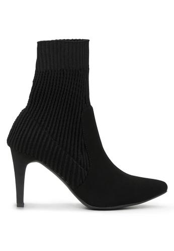 London Rag 黑色 黑色高跟靴 SH1691 0EEE4SH54AFAD3GS_1